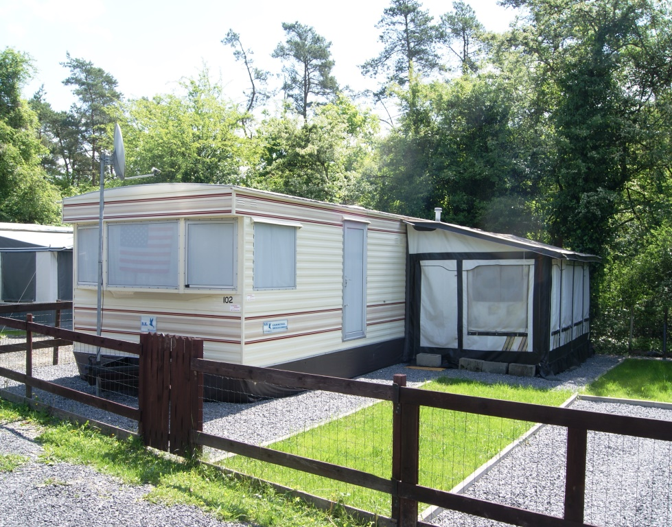 Some of the mobile homes are for sale