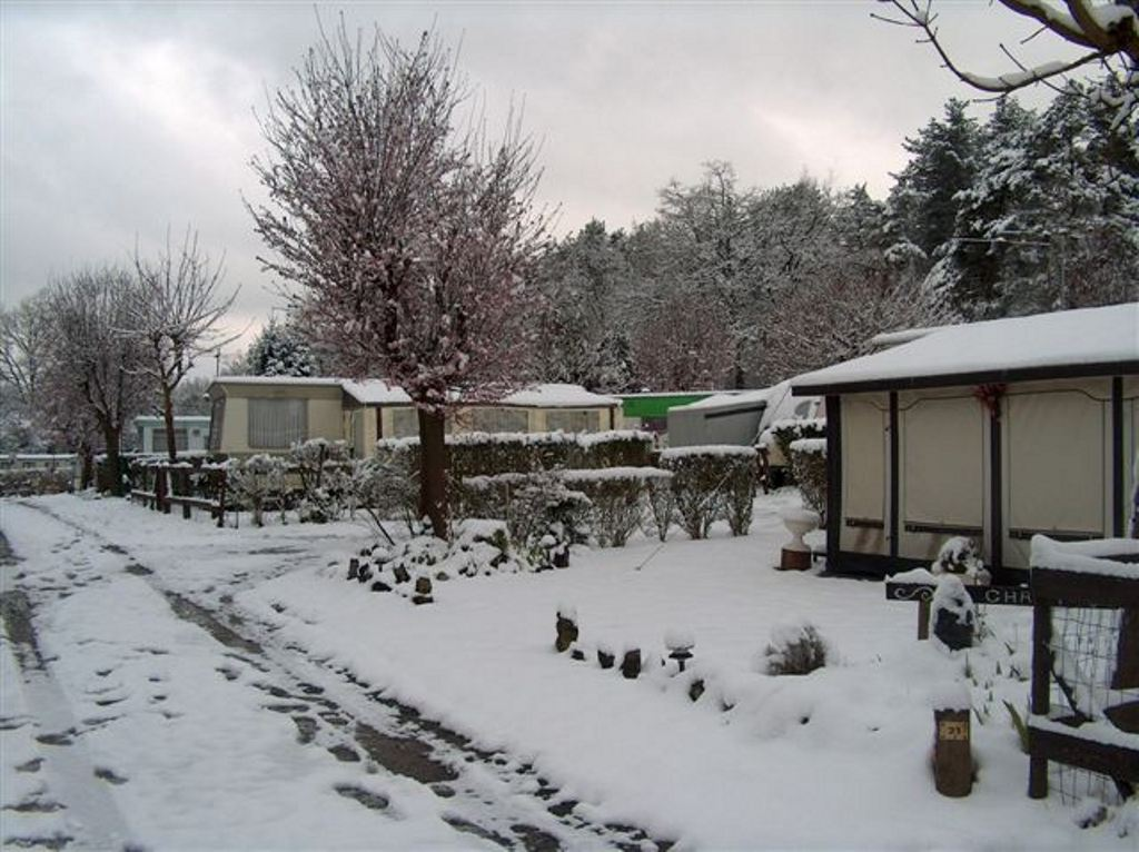 With a yearly pitch you can also enjoy the winter wonders of the Ardennes